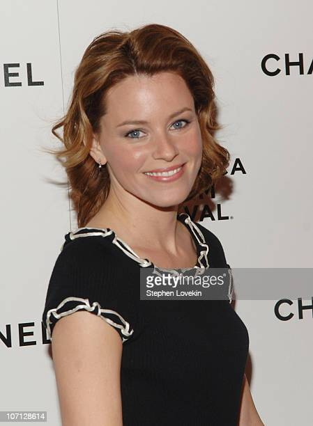 Elizabeth Banks during 6th Annual Tribeca Film Festival - 2nd Annual Chanel Dinnner Celebrating Artist Program at Bowery Hotel in New York City, New...