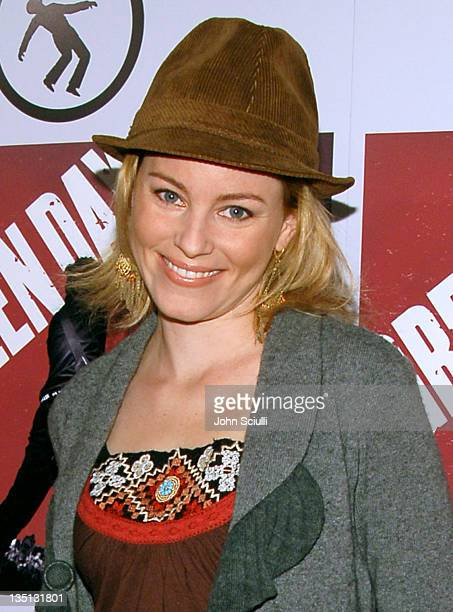 """Elizabeth Banks during Green Day's """"Bullet in a Bible"""" Los Angeles Premiere - Arrivals at Arclight Theatre in Hollywood, California, United States."""