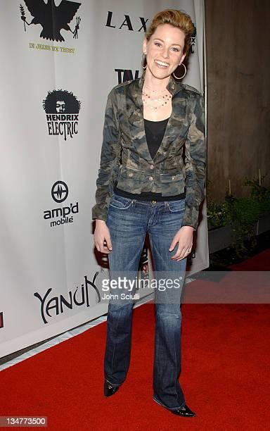 Elizabeth Banks during Joy Bryant, Elizabeth Banks and Bijou Phillips Host Mean Magazine Release Party Sponsored by Antik Denim and Amp'd Mobile at...