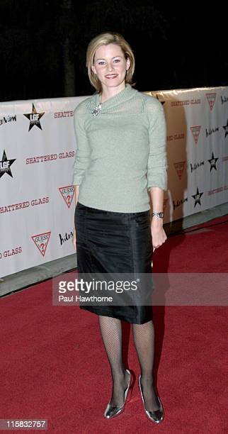 Elizabeth Banks during Shattered Glass New York Screening at Clearview Chelsea Theatre in New York City New York United States