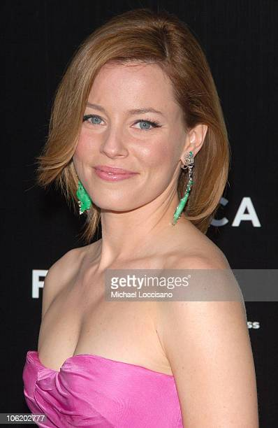 Elizabeth Banks during SpiderMan 3 US Premiere at the Tribeca Film Festival at UA Kaufman Astoria Cinema 14 in Queens New York United States