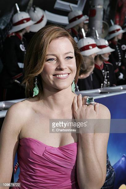 Elizabeth Banks during US Premiere of Columbia Pictures' SpiderMan 3 at Kaufman Astoria 14 in Queens New York United States