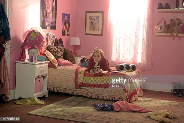 LIVE 'Elizabeth Banks' Episode 1688 Pictured Kate McKinnon during the 'First Got Horny 2 U' sketch on November 14 2015