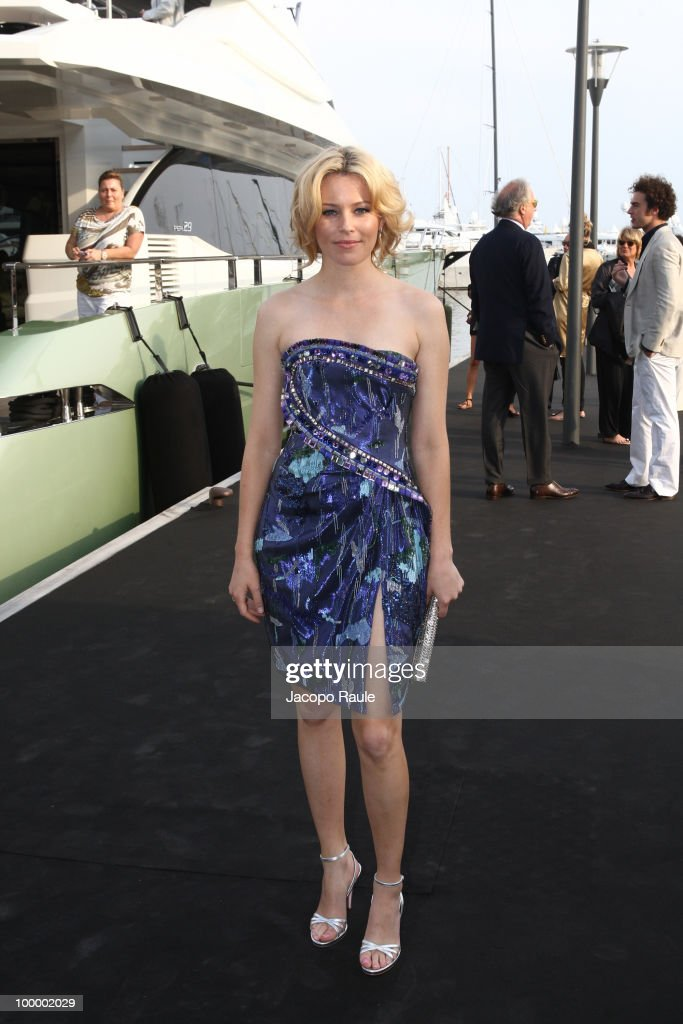 Elizabeth Banks is seen during the 63rd Annual International Cannes Film Festival on May 19, 2010 in Cannes, France.