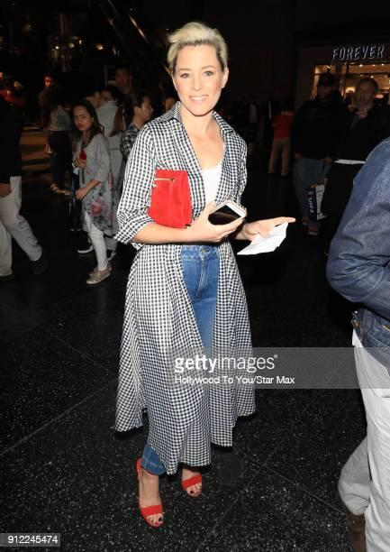 Elizabeth Banks is seen on January 29 2018 in Los Angeles California
