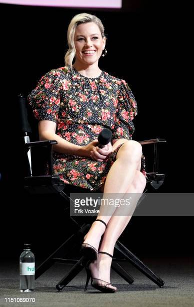 Elizabeth Banks speaks onstage during the Hulu Shrill FYC screening at the Television Academy on May 22 2019 in North Hollywood California