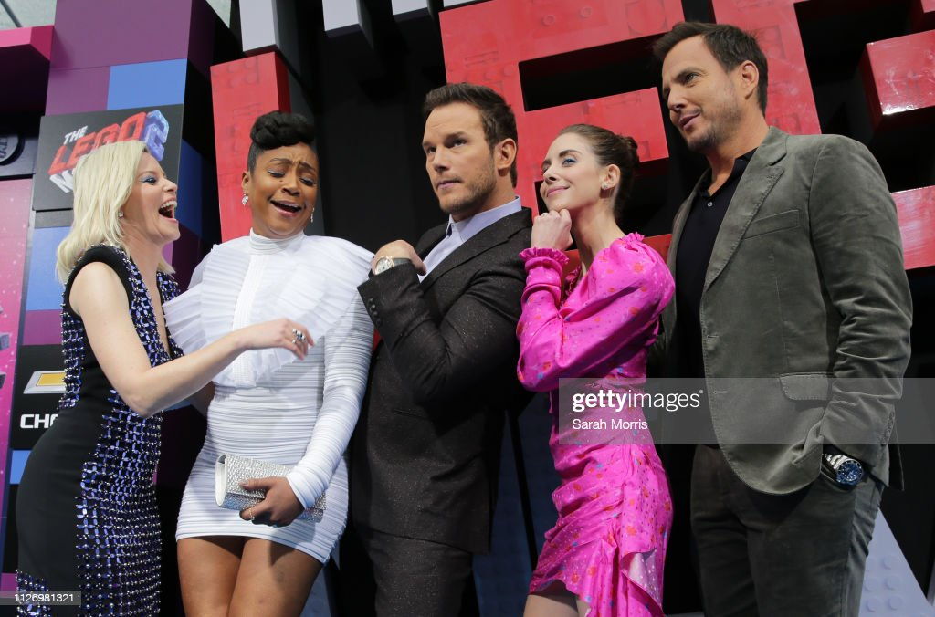 """Premiere Of Warner Bros. Pictures' """"The Lego Movie 2: The Second Part"""" - Red Carpet : News Photo"""