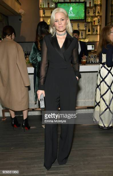 Elizabeth Banks wearing Max Mara attends Women In Film PreOscar Cocktail Party presented by Max Mara and Lancome with additional support from...
