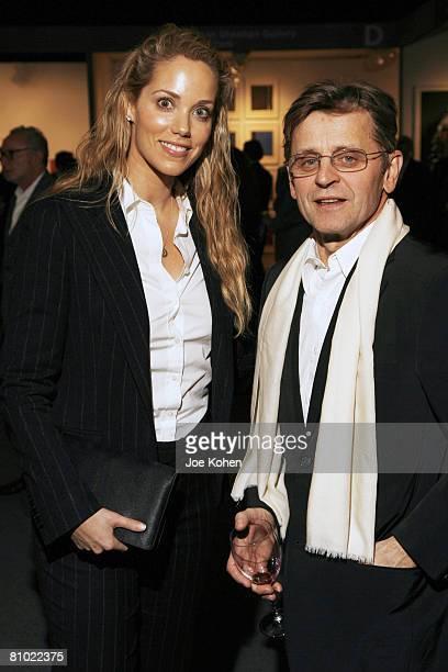 Elizabeth Berkley and Mikhail Baryshnikov