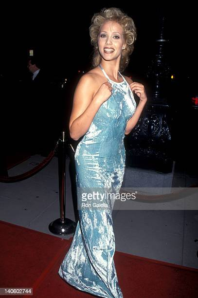 Elizabeth Berkley at the Premiere of 'Showgirls' Academy Theatre Beverly Hills