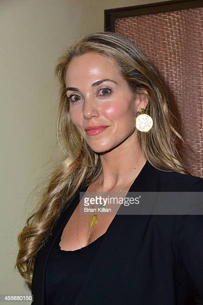 Elizabeth Berkley attends teh Almost Home after party at West Bank Cafe on September 18 2014 in New York City
