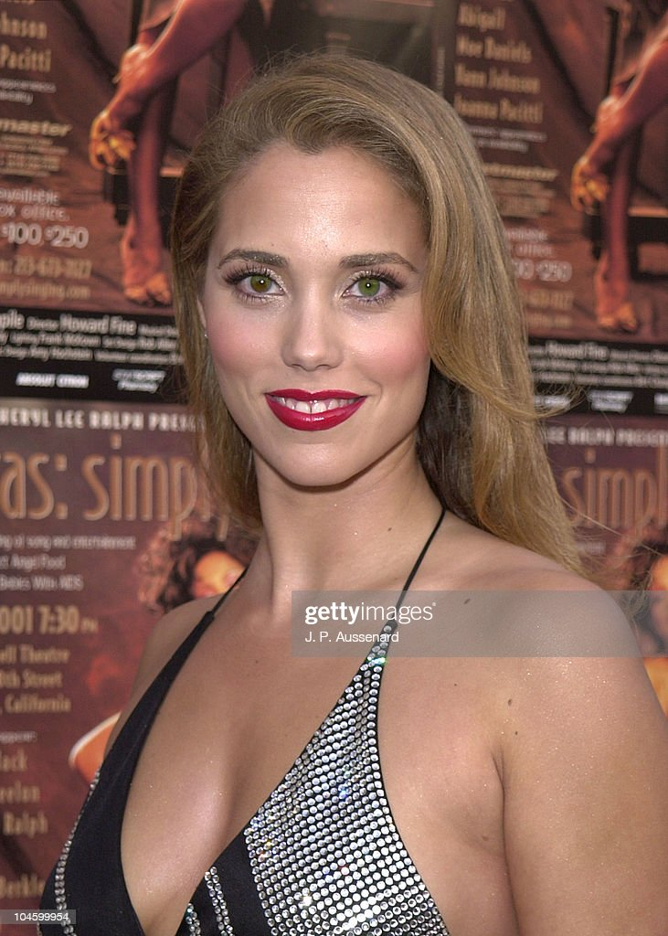 Elizabeth Berkley during 11th Annual Divas:Simply Singing! at Wilshire Ebel Theater in Los Angeles, California, United States.