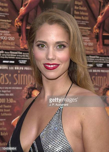 Elizabeth Berkley during 11th Annual DivasSimply Singing at Wilshire Ebel Theater in Los Angeles California United States