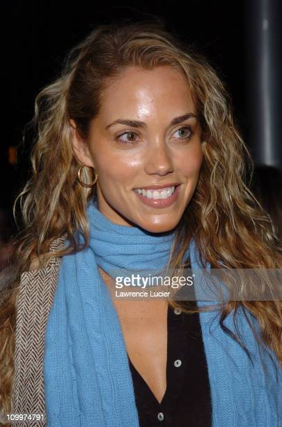 Elizabeth Berkley during 4th Annual Tribeca Film Festival - Special Thanks To Roy London World Premiere - Arrivals at Regal Cinemas in New York, NY,...