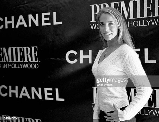 Elizabeth Berkley during 9th Annual Premiere Magazine Women In Hollywood Luncheon Black White Photography by Chris Weeks at Four Seasons Hotel in...