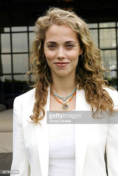 Elizabeth Berkley during Chanel CoHosts a Mother and Daughter Charity Luncheon to Benefit The Accelerated School at Guber's Home in Bel Air...