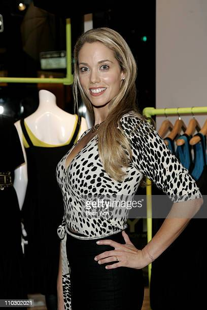 Elizabeth Berkley during Gilda's Club Worldwide Young Leadership Council Benefit at the DKNY Flagship Store September 28 2006 at DKNY Fagship Store...