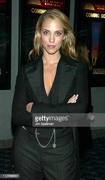Elizabeth Berkley during Roger Dodger Premiere New York at Chelsea 9 in New York City New York United States