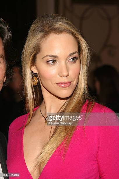 Elizabeth Berkley during The Breast Cancer Research Foundation's Annual Hot Pink Party at Waldorf Astoria in New York New York United States