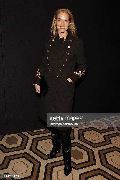 Elizabeth Berkley during The Fountain New York Premiere Arrivals at Tribeca Grand in New York City New York United States