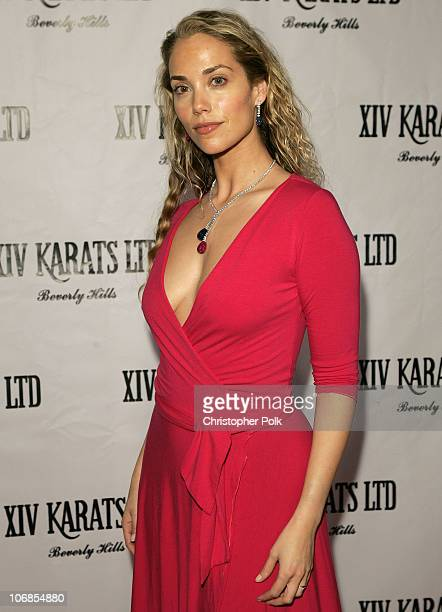 Elizabeth Berkley during XIV Karats Ltd Hosts an Exclusive Trunk Show Featuring Couture Jewelry Designers Daniel K Charles Krypell Marco Bicego Barry...