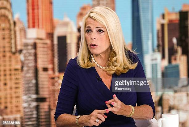 Elizabeth Betsy McCaughey former lieutenant governor of New York speaks during a Bloomberg Television interview in New York US on Wednesday Aug 3...