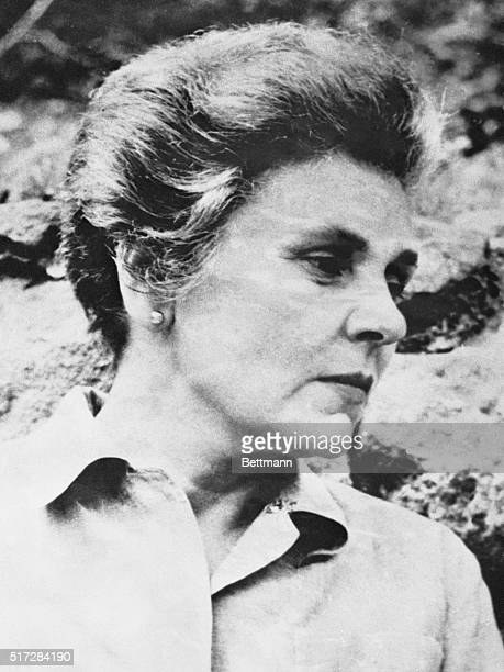 Elizabeth Bishop, an award-winning American poet prominent in the 1950s