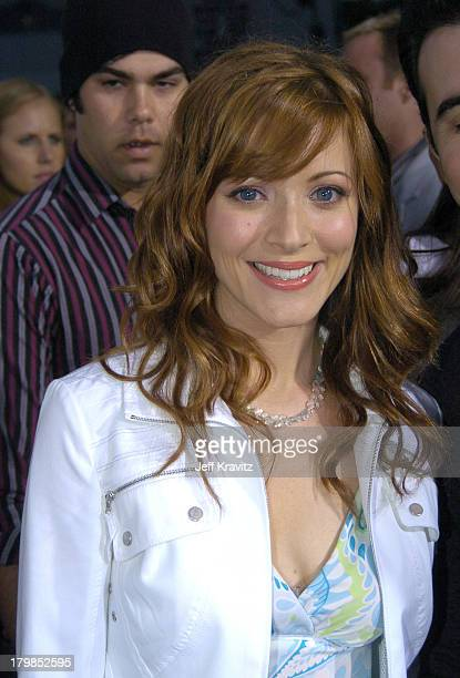 Elizabeth Bogush during Rock The Vote 2004 National Bus Tour Concert June 16 2004 at Avalon in Hollywood California United States