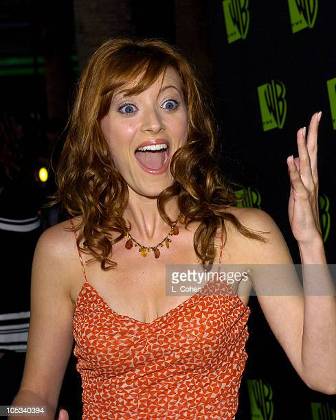 Elizabeth Bogush during The WB Network's 2004 All Star Party Red Carpet Party at The Lounge At Astra West in Los Angeles California United States