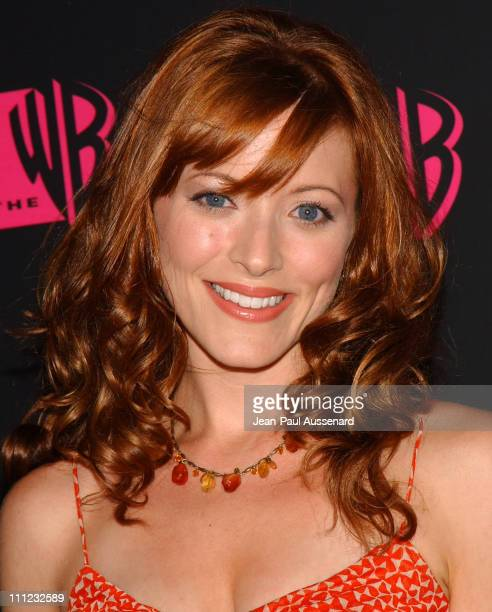 Elizabeth Bogush during The WB Network's 2004 All Star Summer Party Arrivals at The Lounge at Astra West in Los Angeles California United States