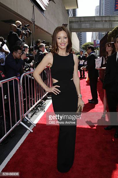 Elizabeth Bogush on the red carpet at THE 43RD ANNUAL DAYTIME EMMY AWARDS held on Sunday May 1 2016 in Los Angeles California