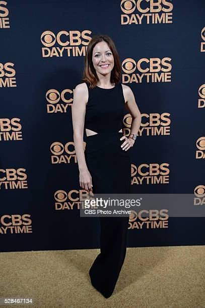 Elizabeth Bogush poses for a photograph at the CBS Daytime Emmy Awards afterparty at the Alexandria Ballrooms on Sunday May 1 2016 in Los Angeles...