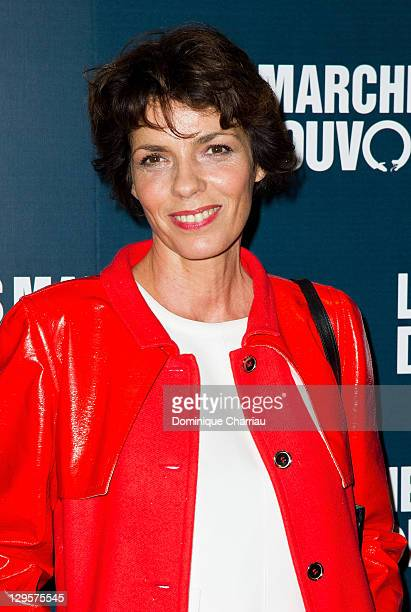 Elizabeth Bourgine attends the Paris premiere of 'The Ides of March'at Cinema UGC Normandie on October 18 2011 in Paris France