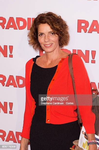 "Elizabeth Bourgine attends the ""Radin"" Paris Premiere at Cinema Gaumont Opera on September 22, 2016 in Paris, France."