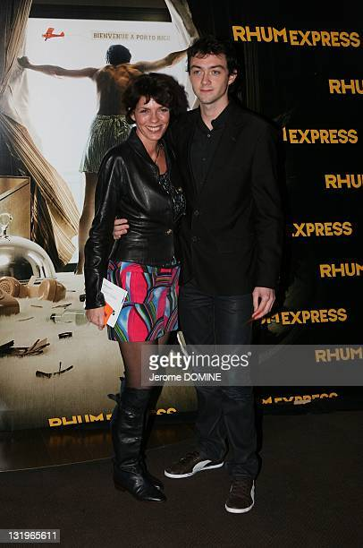Elizabeth Bourgine attends the 'Rhum Express' Paris Premiere at Cinema Gaumont Marignan on November 8 2011 in Paris France