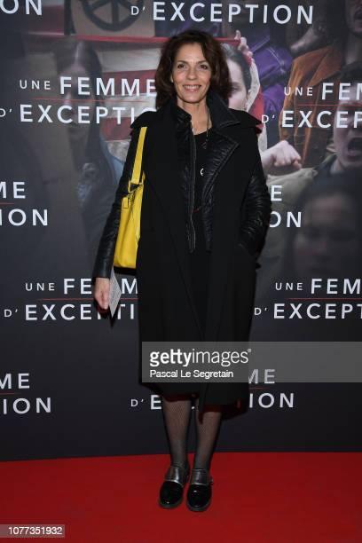 "Elizabeth Bourgine attends ""Une Femme D'Exception - On the Basis Of Sex"" at Cinema Gaumont Capucine on December 04, 2018 in Paris, France."