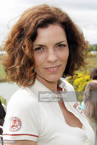 Elizabeth Bourgine in Saint Quentin en Yvelines France onJune 28 2008