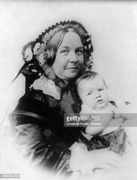 Elizabeth Cady Stanton and her daughter Harriot