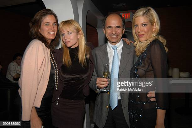 Elizabeth Callender Rebecca DeMornay JeanMarie Barillère and Tori Spelling attend Champagne Mumm celebrates a night with Patrick McMullan hosted by...