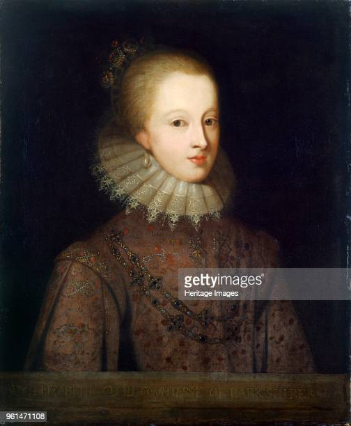 Elizabeth Cecil Countess of Berkshire late 17th century Painting from the Suffolk Collection in Kenwood House London Artist Unknown