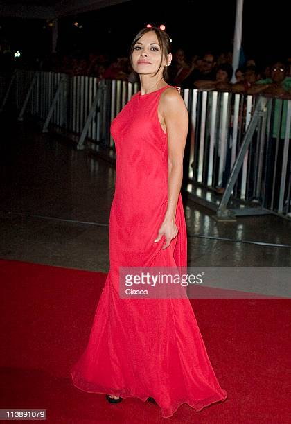 Elizabeth Cervantes attends to the ceremony of Ariel Awards 2011 at Bellas Artes on May 7 2011 in Mexico City Mexico