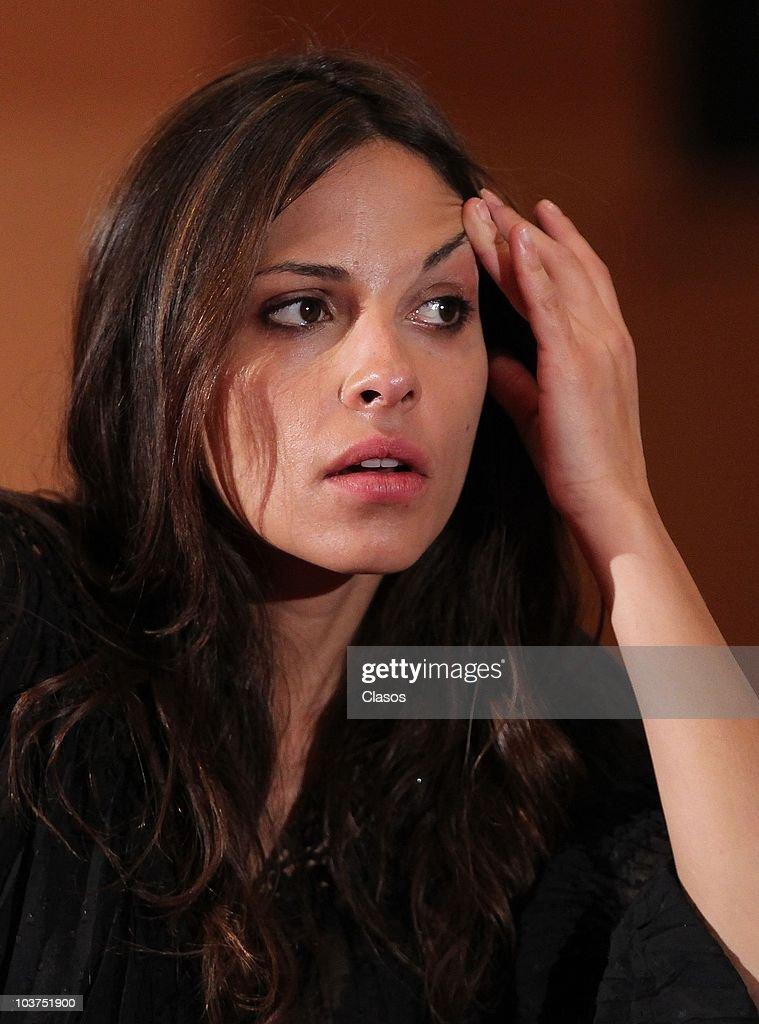 El Infierno Movie Press Conference News Photo