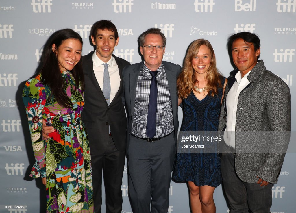 "2018 Toronto Film Festival Premiere Of National Geographic Documentary Films' ""Free Solo"" : News Photo"