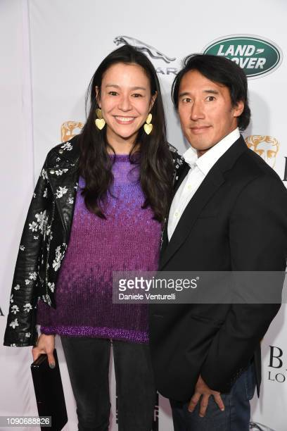 Elizabeth Chai Vasarhelyi and Jimmy Chin attend The BAFTA Los Angeles Tea Party at Four Seasons Hotel Los Angeles at Beverly Hills on January 05 2019...