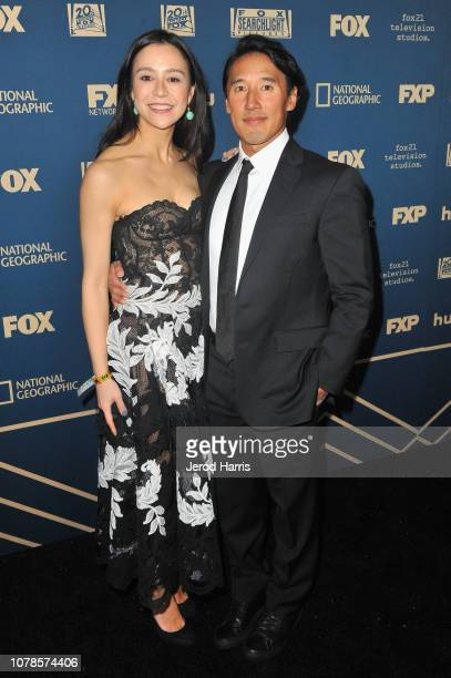 Elizabeth Chai Vasarhelyi and Jimmy Chin attend the FOX FX and Hulu 2019 Golden Globe Awards After Party at The Beverly Hilton Hotel on January 6...