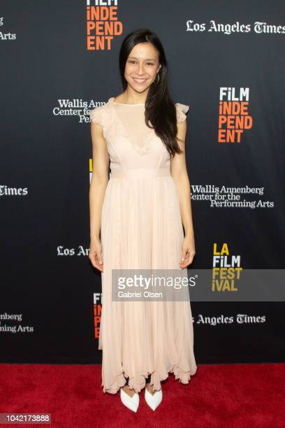 Elizabeth Chai Vasarhelyi arrives for the LA Film Festival gala screening of National Geographic Documentary Films 'Free Solo' at at Wallis Annenberg...