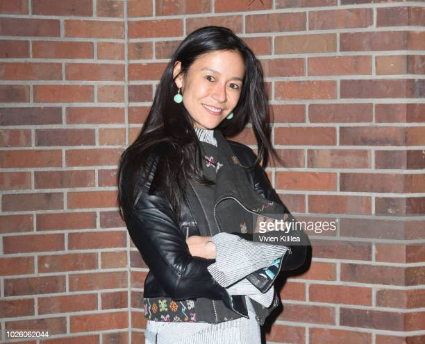 Elizabeth Chai Vasarhelyi attends a screening of Free Solo at the Telluride Film Festival 2018 on September 1 2018 in Telluride Colorado