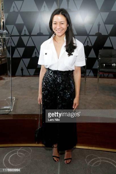 Elizabeth Chai Vasarhelyi attends the Academy of Motion Picture Arts Sciences' Women's Initiative New York luncheon in partnership with E...