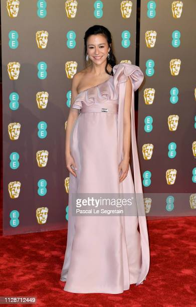 Elizabeth Chai Vasarhelyi attends the EE British Academy Film Awards at Royal Albert Hall on February 10 2019 in London England