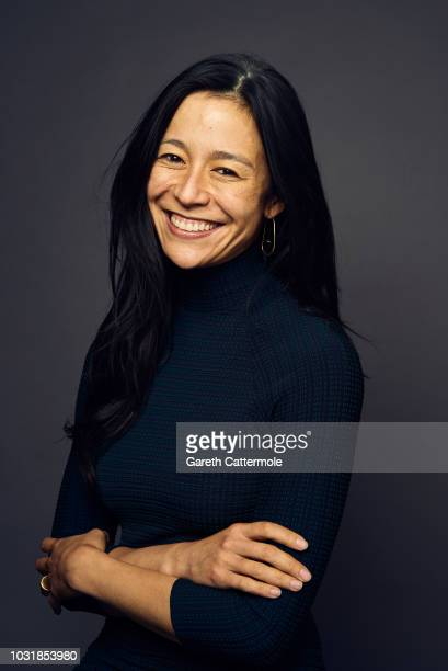 Elizabeth Chai Vasarhelyi from the film 'Free Solo' poses for a portrait during the 2018 Toronto International Film Festival at Intercontinental...